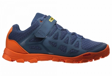 Mavic Crossride MTB Shoes Bleu / Orange 2018