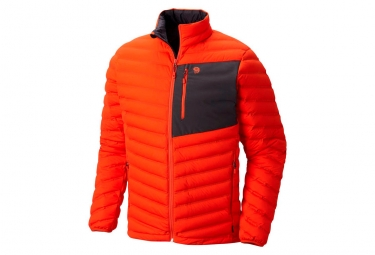 Veste mountain hardwear stretchdown orange xl