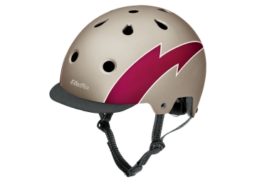 Casque electra lightning or l 58 63 cm