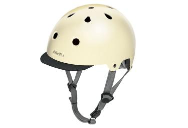 Electra Cream Sparkle Helmet Beige