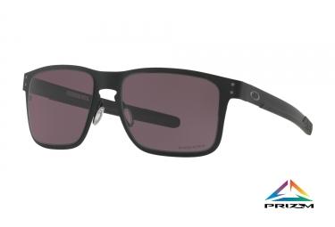 lunettes oakley holbrook metal noir prizm grey ref oo4123 1155