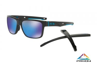 lunettes crossrange oakley noir prizm sapphire ref oo9361 1357