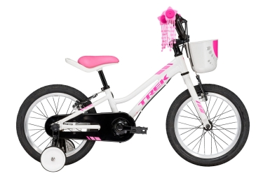 velo enfant trek 2017 precaliber 16 girls f w blanc rose
