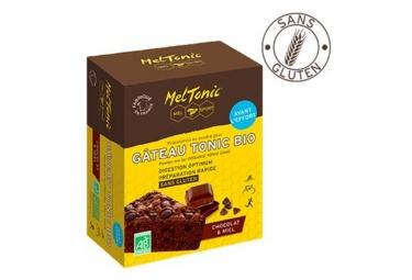 Gateau Meltonic Tonic Bio Chocolat Miel Gelée royale 400g