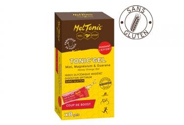 meltonic 8 gels energetiques coup de boost miel magnesium guarana