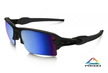 lunettes oakley flak 2 0 xl noir prizm deep water polarise ref oo9188 58