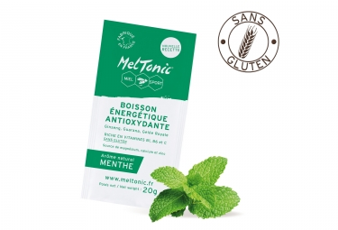 Boisson énergétique ANTIOXYDANT Meltonic Menthe 10 sachets