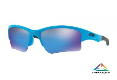 lunettes enfant oakley quarter jacket blue prizm sapphire ref oo9200 2661