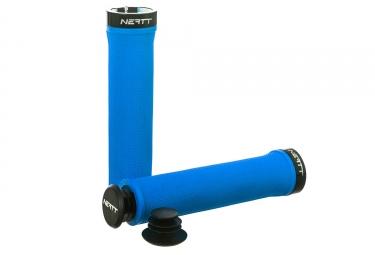 Paire de Grips Neatt One Lock Bleu Néon