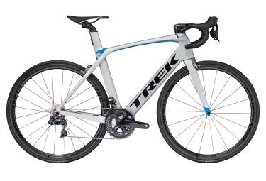 velo de route trek 2018 madone 9 5 h2 shimano ultegra r8050 di2 11v argent bleu 62 cm 189 197 cm