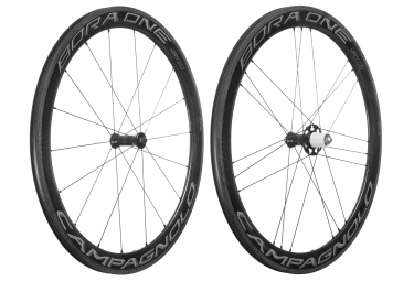 paire de roues campagnolo bora one 50 dark shimano sram patins 9 x 100 9 x 130 mm