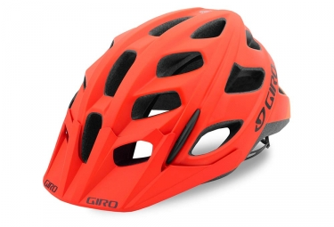 casque giro hex orange noir s 51 55 cm