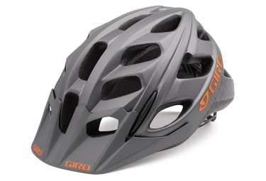 Casque giro hex gris orange s 51 55 cm
