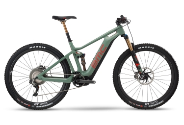 MTB Eléctrica Doble Suspensión BMC Speedfox AMP LTD 29'' Vert / Rouge 2018