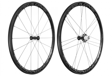 paire de roues campagnolo bora one 35 dark shimano sram patins 9 x 100 9 x 130 mm