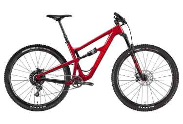 velo tout suspendu santa cruz hightower 1 0 cc carbone 29 27 5 boost sram xo1 11v rouge m 166 178 cm