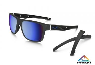 lunettes crossrange oakley gris fonce prizm deep water polarise ref oo9361 0957