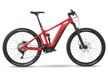 vtt electrique bmc 2018 speedfox amp two shimano xt 1x11v shimano steps e 8000 rouge