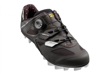 Chaussures VTT Cross Country Mavic Sequence XC Elite W Marron / Blanc