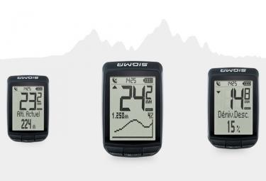 Compteur GPS Sigma Pure GPS Noir