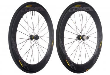 mavic 2018 paire de roues comete pro carbon sl t disc m 25 shimano sram center lock 12 x 100 12 x 142 mm