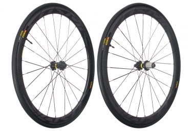 mavic 2018 paire de roues cosmic pro carbon sl ust disc m 25 shimano sram center lock 12 x 100 12 x 142 mm