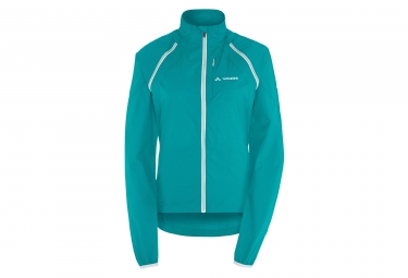 veste coupe vent femme vaude windoo bleu turquoise m