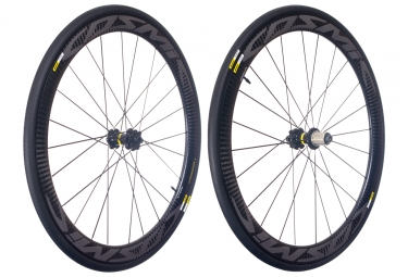 mavic 2018 paire de roues cosmic pro carbon disc shimano sram center lock 12 x 100 12 x 142 mm