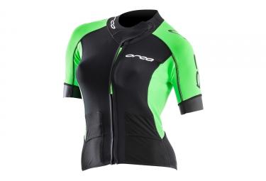 Orca Swimrun Core Women's Top Black Green