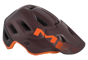 Casque met roam bordeau orange m 56 58 cm