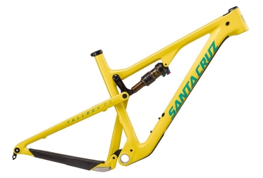 cadre tout suspendu santa cruz tallboy 3 cc carbone 29 27 5 boost fox float factory jaune l 176 186 cm