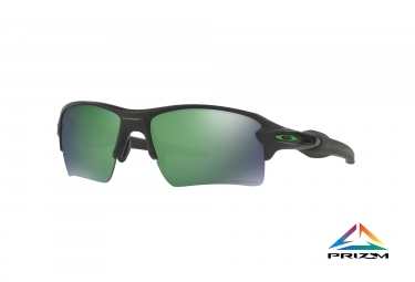 lunettes oakley flak 2 0 xl noir prizm jade polarise ref oo9188 7759