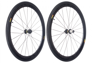 Mavic 2018 paire de roues cosmic pro carbon sl t disc m 25 shimano sram center lock