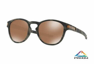 lunettes oakley latch camo prizm tungsten ref oo9265 3153
