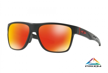 lunettes oakley crossrange xl noir prizm ruby ref oo9360 1258