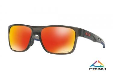 lunettes crossrange oakley gray smoke prizm ruby ref oo9361 1257