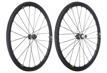 mavic 2018 paire de roues allroad pro ust disc m 30 shimano sram center lock 12 x 100 12 x 142 mm