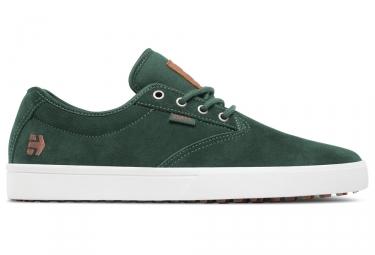 Paire de Chaussures BMX ETNIES JAMESON SLW Vert Blanc