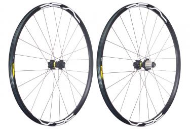 mavic 2018 paire de roues xa 29 xd 6 trous 15 x 100 12 x 142 mm