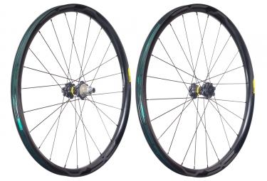 mavic 2018 paire de roues xa pro carbon 27 5 xd 6 trous 15 x 100 12 x 142 mm