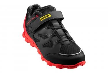 MTB Women Shoes Mavic Echappée Trail Elite Black Red 2018