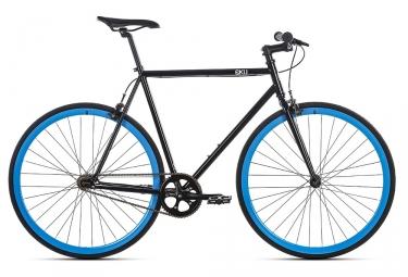 Fixie 6ku shelby 4 noir bleu 52 cm 163 173 cm
