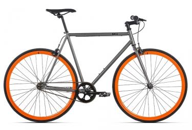Fixie 6KU Barcelona Gris Orange