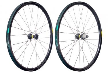 mavic 2018 paire de roues xa pro carbon 29 shimano sram 6 trous 15 x 100 12 x 142 mm