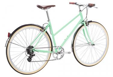 Vélo de Ville 6Ku Odessa Shimano Altus 8V Vert 2018