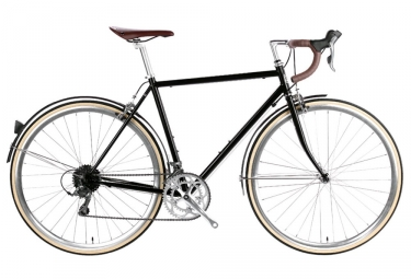 6KU Troy City Bike Shimano Claris 8S Del Rey Black