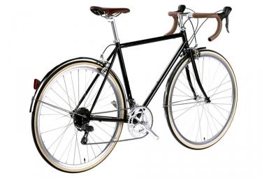 Vélo de Ville 6Ku Troy Shimano Claris 8V Noir 2018