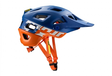 casques vtt mavic crossmax pro bleu orange l 57 61 cm