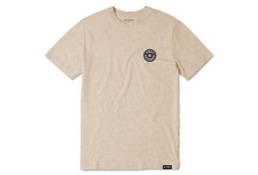 T shirt etnies core patch sand beige l