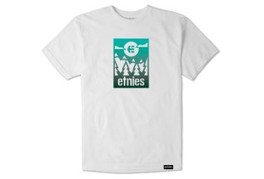 Etnies Label Gradient camiseta blanca